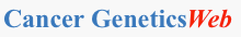 Cancer GeneticsWeb logo